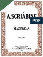 ScriabinMazurkas-