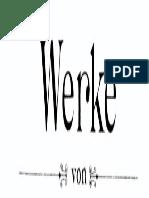 Werke Von