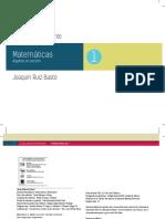 Guia Para Docente Matematicas 1 RUIZ