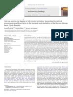 Outcrop gamma-ray logging of siliciclastic turbidites