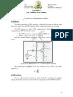 EXP13 PNP Transistor as an Amplifier