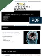 Tratamento de Doenças Neurodegenerativas