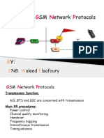 CH5-GSM Network Protocols