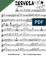 UNA CERVEZA - Trumpet in Bb 1.pdf