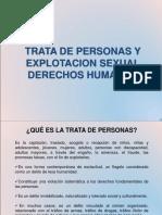 Trata de Personas y Explotacion Sexual