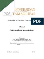 Manual Laboratorio de Bromatología 2018