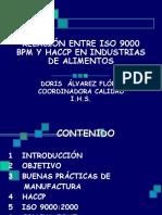 9 Relación BPM-HACCP-IsO (Doris Alvarez)