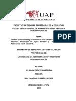 Estructura Proyecto de Tesis Alas Peruanas Administración