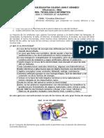 GUIA 3 10° academico  CORRIENTE ELECTRICA