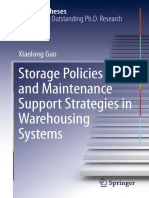 Xiaolong Guo Auth. Storage Policies and Maintenance Support Strategies in Warehousing Systems
