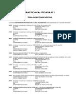 Practica Calificada 1 - Registro Ventas - Upn