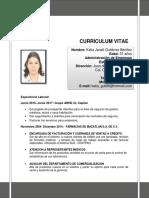 Curriculum Katia Gutierrez