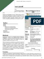 Windows Server 2008 – Wikipédia, A Enciclopédia Livre