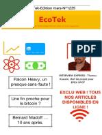 EcoTek - Edition mars 2018