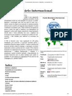 Fundo MonetWQrio EInternacional – Wikipédia, A Enciclopédia Livre