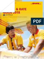 Dhl Express Rate Transit Guide Au En