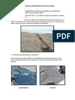Utilizacion de La Geomembrana y Geotextil en Obra
