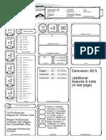Thunder Character Sheet 3-10-18