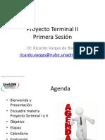 Proyecto Terminal II Segunda Sesion
