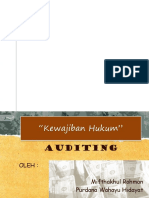 Kewajiban Hukum Akuntan Publik