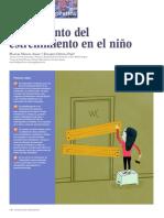 Tratamiento Del Estreñimiento en El Niño 2013