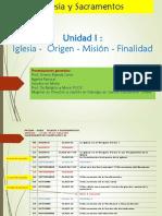 Clase 1 iglesia origen misión y Finalidad designio divino PPT.pdf
