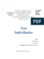 Tarea psicopat0logia tests individuales