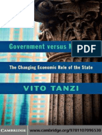 Vito Tanzi Government vs Markets
