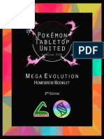 Mega Evolution - Homebrew Booklet