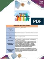Propuesta Desarrollo e Actividad