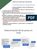 Determinación de las penas en Chile