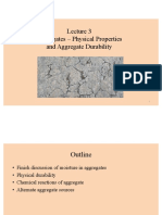 aggregate durability physical properties
