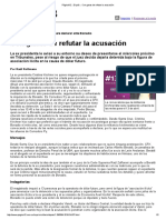 Página_12 __ El País __ Con Ganas de Refutar La Acusación