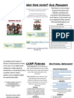 copy of safe dates brochure