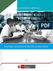 2017 Programa Curricular Educacion Secundaria