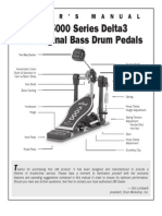 DW 5000D3 Pedal Manual