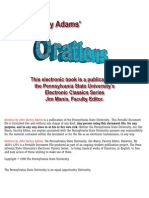 Adams, John Quincy - Orations