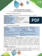Guía  deactividades y rubrica de evaluación - Paso 2-H Diagnostico Linea Base