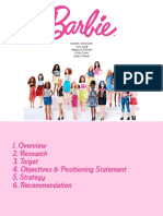 Barbie Market Research Presentation