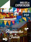 REVISTA ANALISIS DE EXPORTACION AYACUCHO Y JUNIN 2018