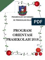 Program Oreintasi Pra 2018
