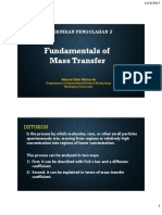 1. Mass Transfer, PDF