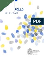 Plan Desarrollo2015 20