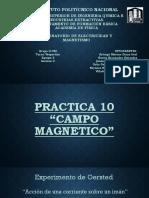 PRACTICA 10 Campo Magnetico