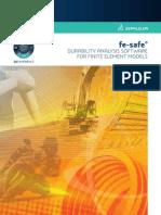 ABAQUS Fe Safe Brochure (2016)