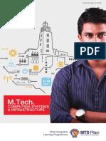 Brochure M.Tech