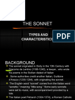 The Sonnet Types