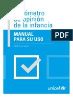 UNICEF Barómetro de opinión de la infancia. Manual para su uso.pdf