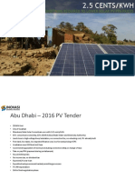 UAE Solar PV Incentives