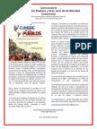 Convocatoria Cumbre de Los Pueblos y Gran Acto de Solidaridad Continental